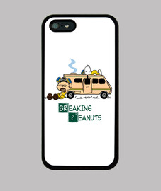 Breaking Peanuts Funda Iphone