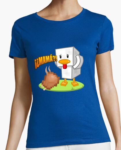 Tee-shirt bref v2 manche de canard-oie femmes