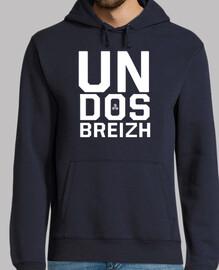 breizh a back - sweatshirt man
