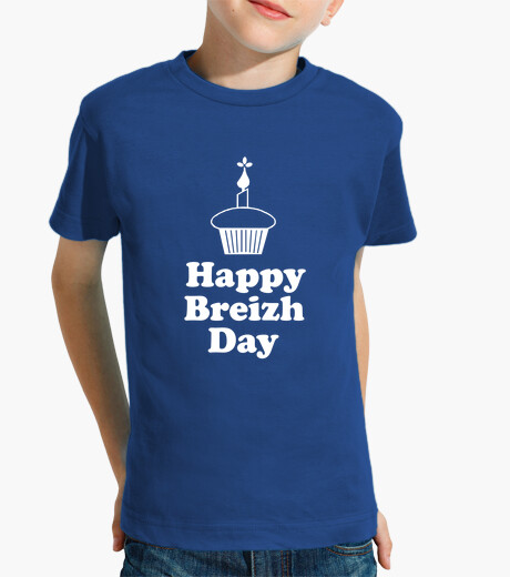 Breizh happy day - children shirt children's clothes