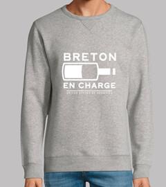 Breton en charge - homme sweat léger