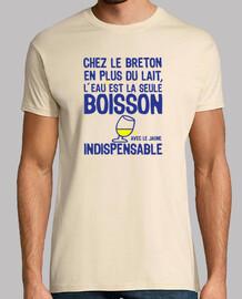 Breton l'eau est indispensable