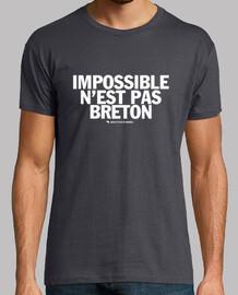breton no es posible - camiseta
