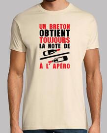 Breton obtient vin sur vin humour