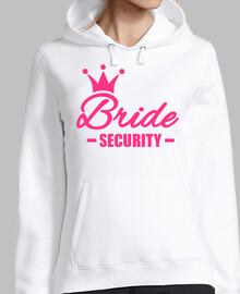 Bride security crown