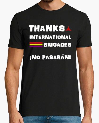 T-shirt brigate internazionali