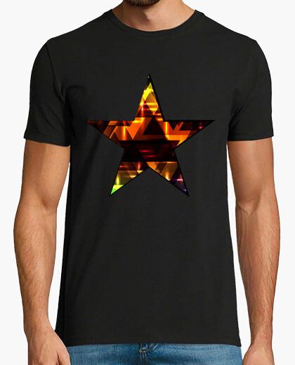 Camiseta Brillantes triángulos brillantes.
