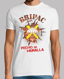 bripac  tee shirt  mur mod.8