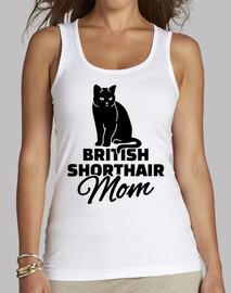 britannique maman shorthair chat