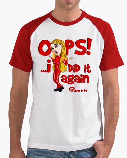Camiseta Britney Spears Oops
