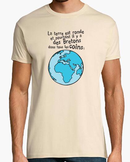 T-shirt brittany in tutti les angoli