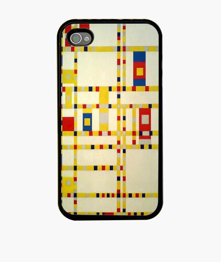 Funda iPhone Broadway Boogie Woogie - Mondrian