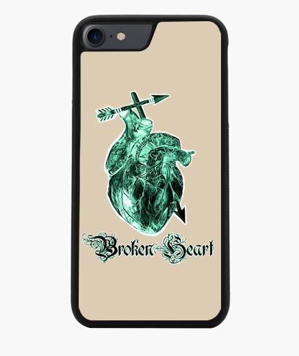 Broken Heart,Rosa de la muerte tatuaje Funda iPhone 7 / 8 7 u 8
