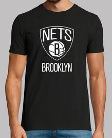 Brooklyn Nets Manga corta