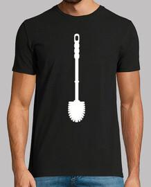 brosse de toilette silhouette
