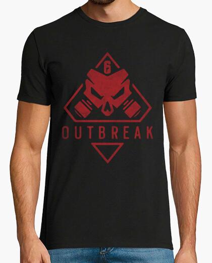 Camiseta brote de operación