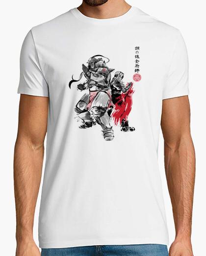 Brotherhood sumi-e t-shirt