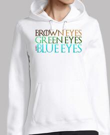 Brown, Green & Blue Eyes