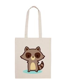 brown raccoon