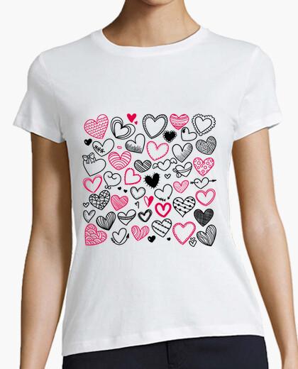 Camiseta BRSM Corazones