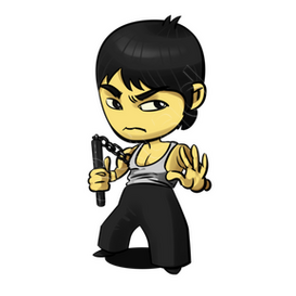 Bruce Lee The Dragon 2 iphone case