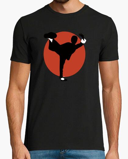 Tee-shirt bruce lee kung-fu