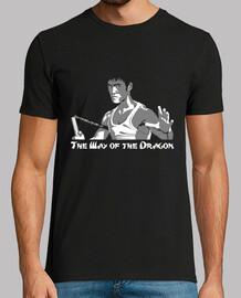 bruce lee manière du dragon  homme