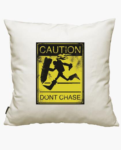 Fodera cuscino bruciacchiati: pericolo
