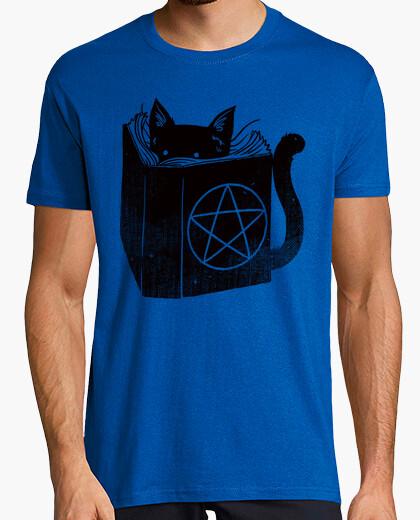 Brujería gato camiseta