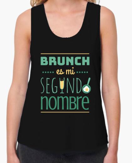 Camiseta Brunch es mi segundo nombre