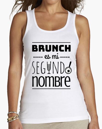 Camiseta Brunch es mi segundo nombre BN
