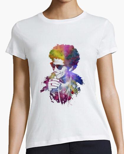 Camiseta Bruno Mars colors M