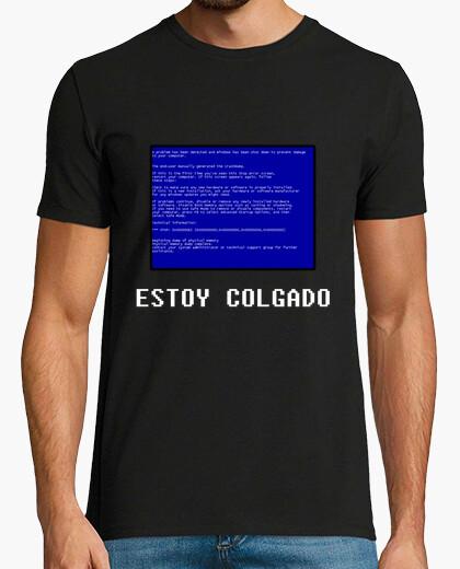 Tee-shirt bsod écran bleu windows (je suis suspendu)