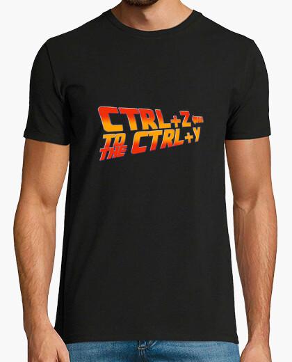 Tee-shirt BTTF - Ctrl X