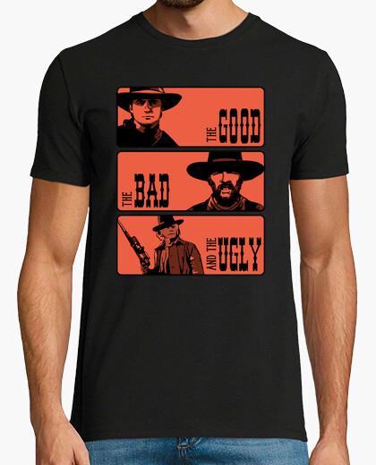 Tee-shirt BTTF: Le bon, la brute et le truand