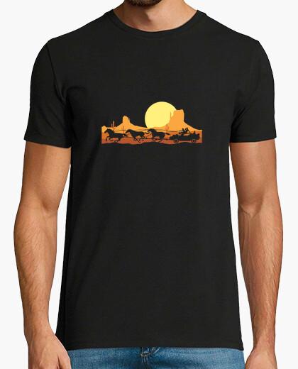 Camiseta bttf regreso al futuro oeste