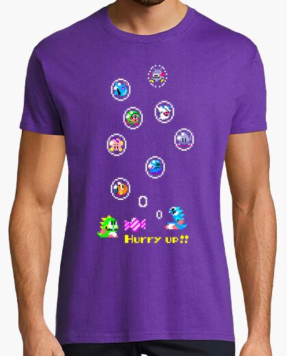 Tee-shirt Bubble Bobble