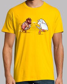 Bud Papel o Tijeras camiseta