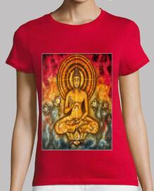 Buda del amor modelo mujer