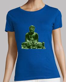 Buda grande verde