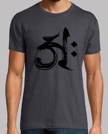 Buddhist A Symbol - Black Edition