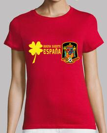Buena Suerte España! Pecho