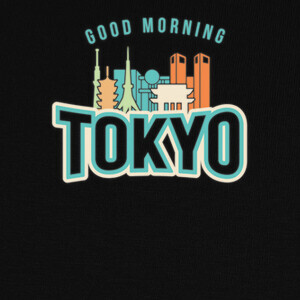 T-shirt buenos dias tokio
