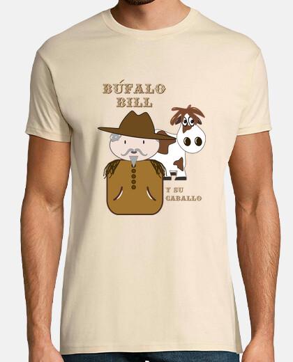 Camisetas de hombre de Búfalo Bill