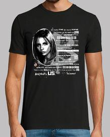 Buffy discurso (camisetas chico y chica)
