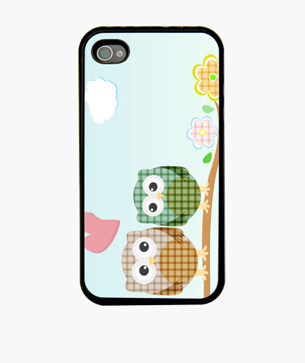 Cover iPhone buhitos coppia