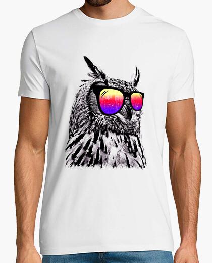 Camiseta búho fresco