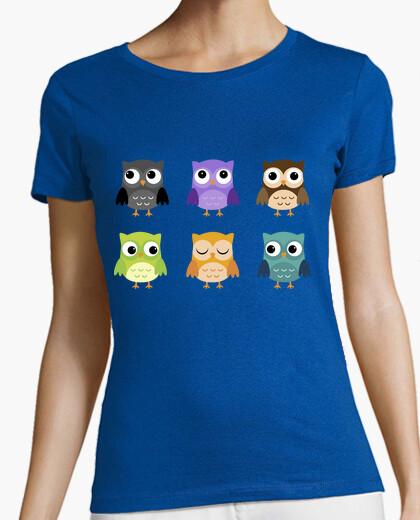 Camiseta Búhos