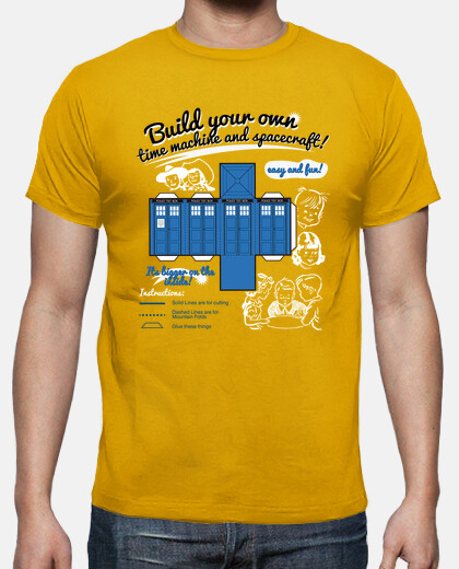 Build your own TARDIS!