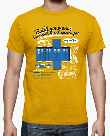 Camiseta Build your own TARDIS!